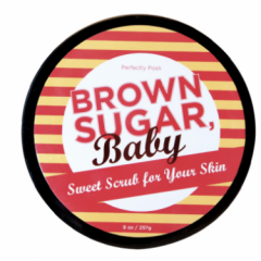 BROWN SUGAR, BABY BODY SUGAR SCRUB