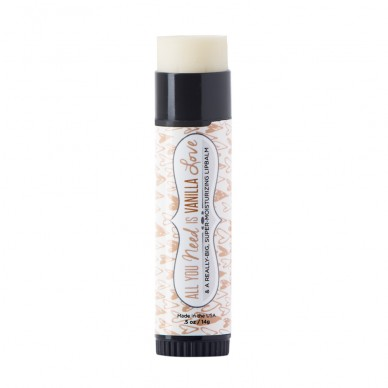 ALL YOU NEED IS VANILLA LOVE GIANT LIP BALM